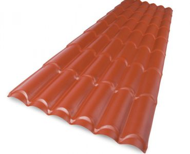 Spanish Plastic Tile Roofing Sheet