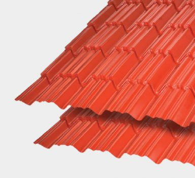 Tiled Profile Roofing Sheet